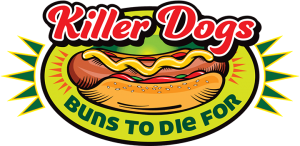 Killer Hot Dogs available only at Tom & Jerry's Mini Golf & Batting Cages in Plymouth Wisconsin